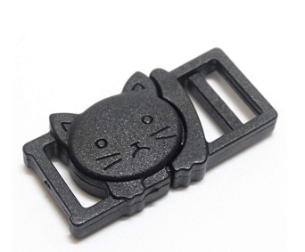 Break away cat collar clip